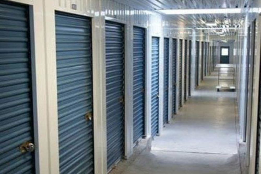 Interior storage units at Store It All FW LLC in Mesquite, Texas