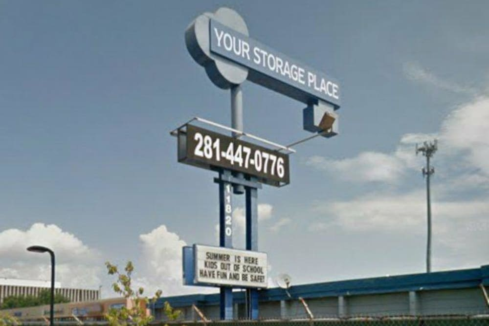 Storage units at Store It All Self Storage - Airline in Houston, TX