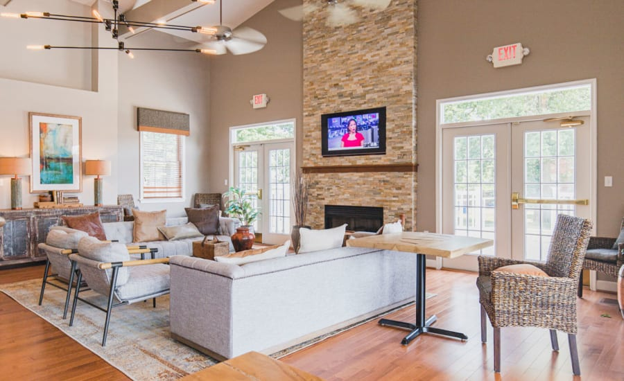 Common room at Westgate Apartments & Townhomes in Manassas, Virginia