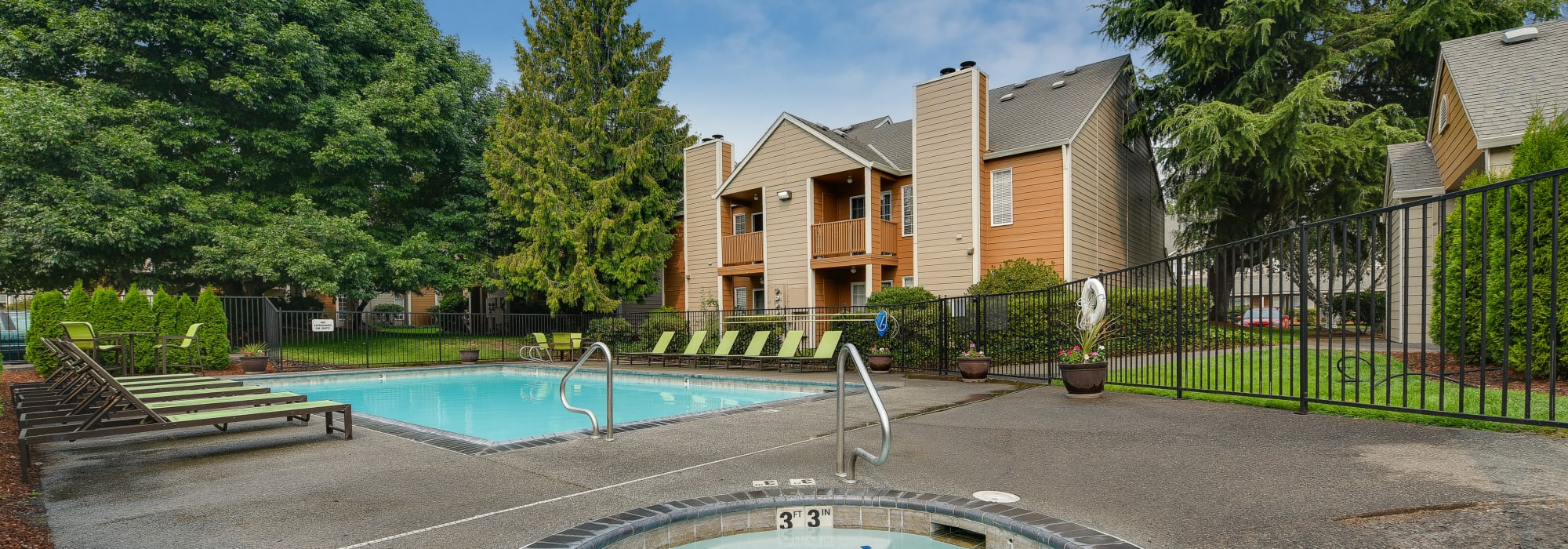Pet friendly living at Carriage House Apartments in Vancouver, Washington