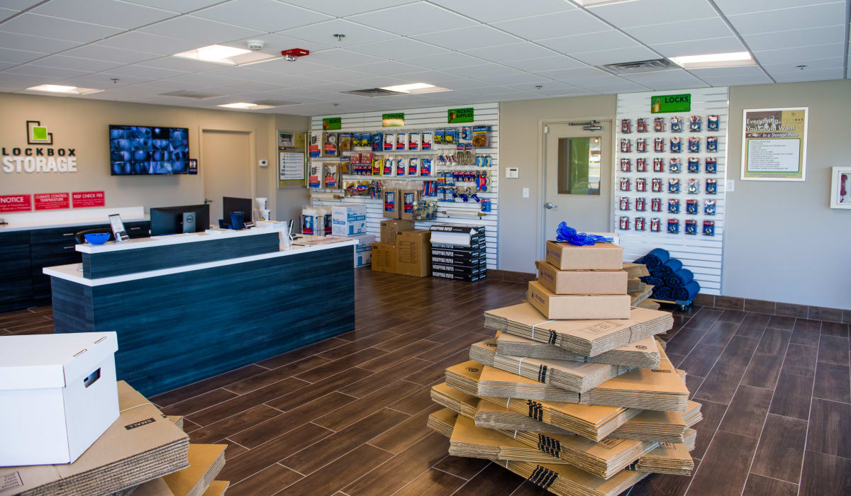 Spacious Store at LockBox Self Storage in Greenville, South Carolina