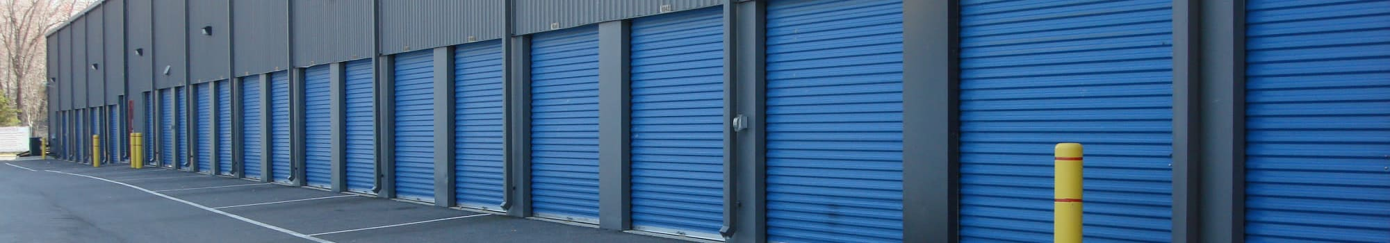 Self storage units in La Plata