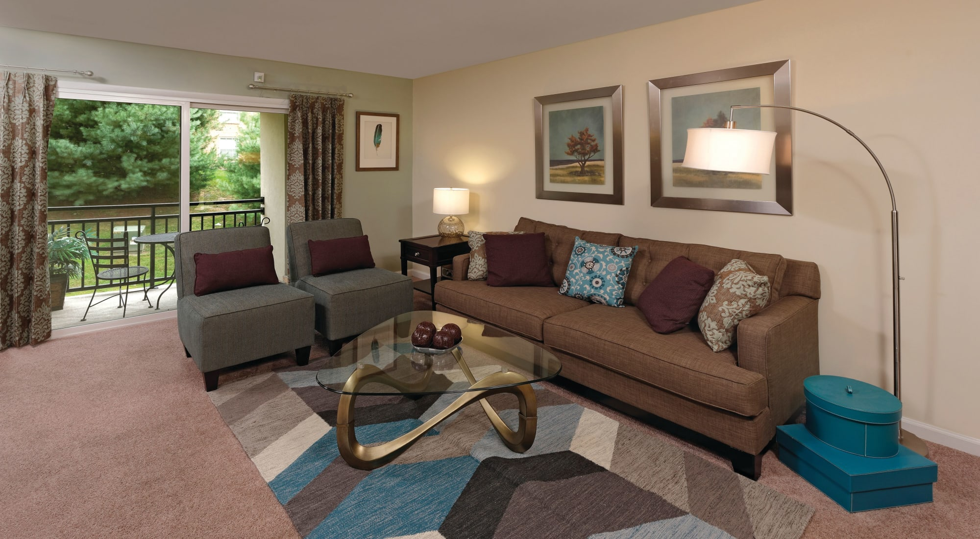 Floor plans at Howard Crossing in Ellicott City, Maryland