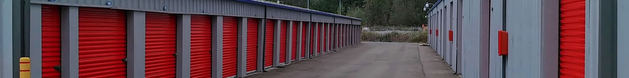 Trojan Storage units for rent in Bothell, Washington