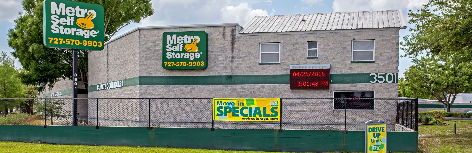 Metro Self Storage In Pinellas Park, FL