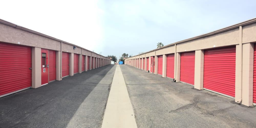 Indoor climate controlled units at StorQuest Self Storage in Camarillo, California