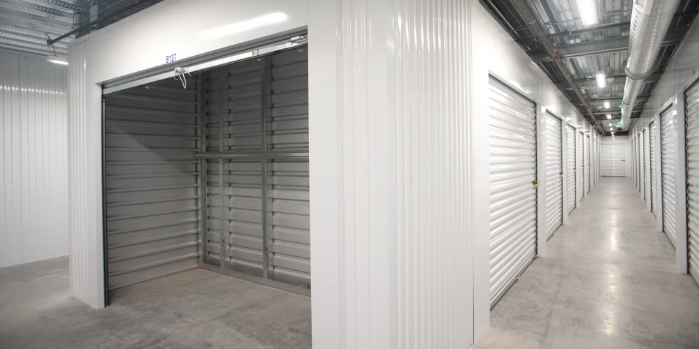 Indoor climate controlled units at StorQuest Self Storage in Reno, Nevada