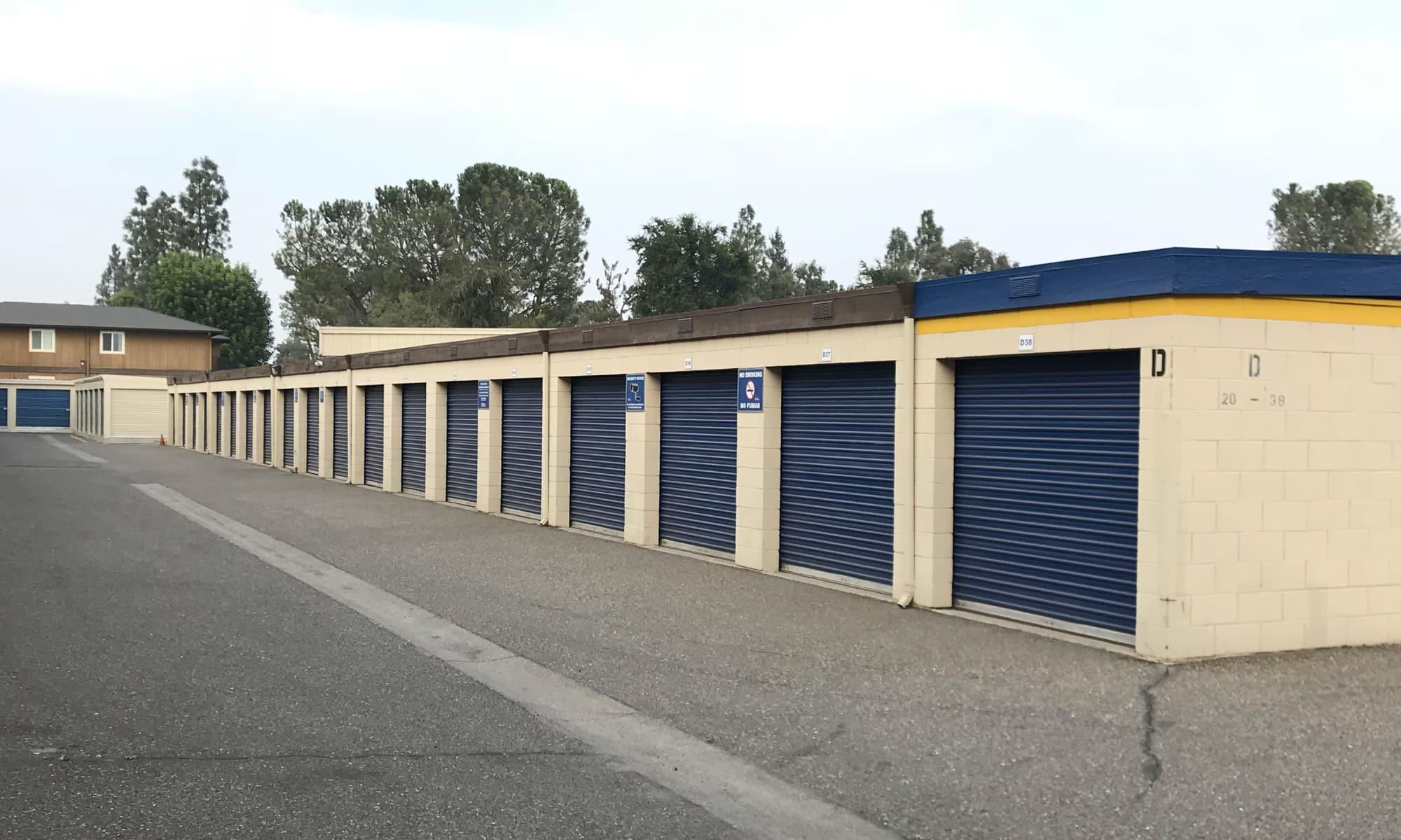 Self storage in Manteca California