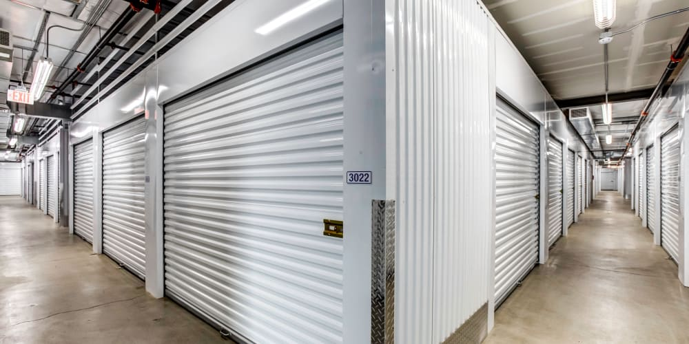 Indoor climate controlled units at StorQuest Self Storage in Buckeye, Arizona