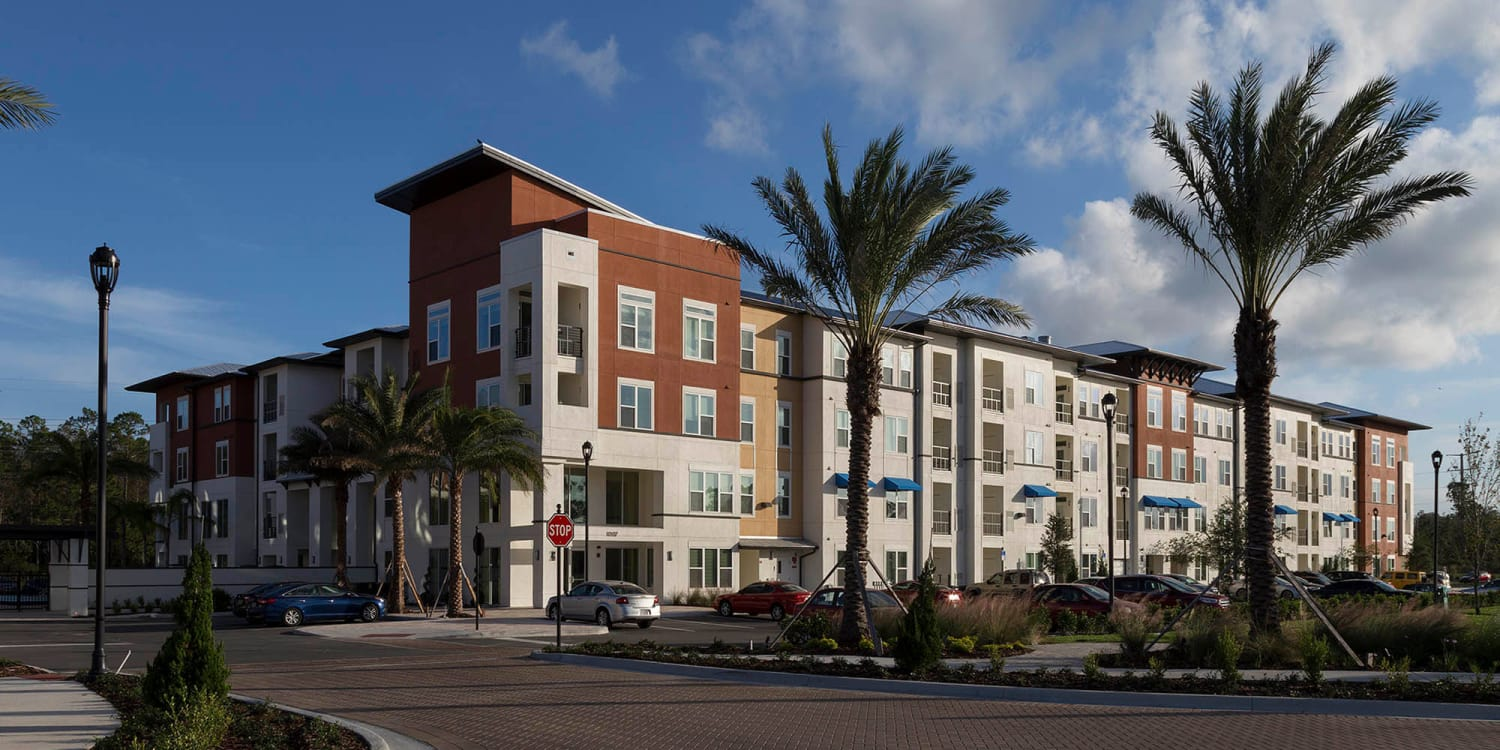 Exterior of our luxury apartment community at Ancora Apartments