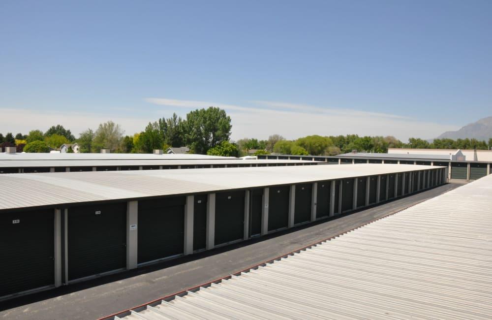 Storage units at Lock It Up Self Storage in Ogden, Utah