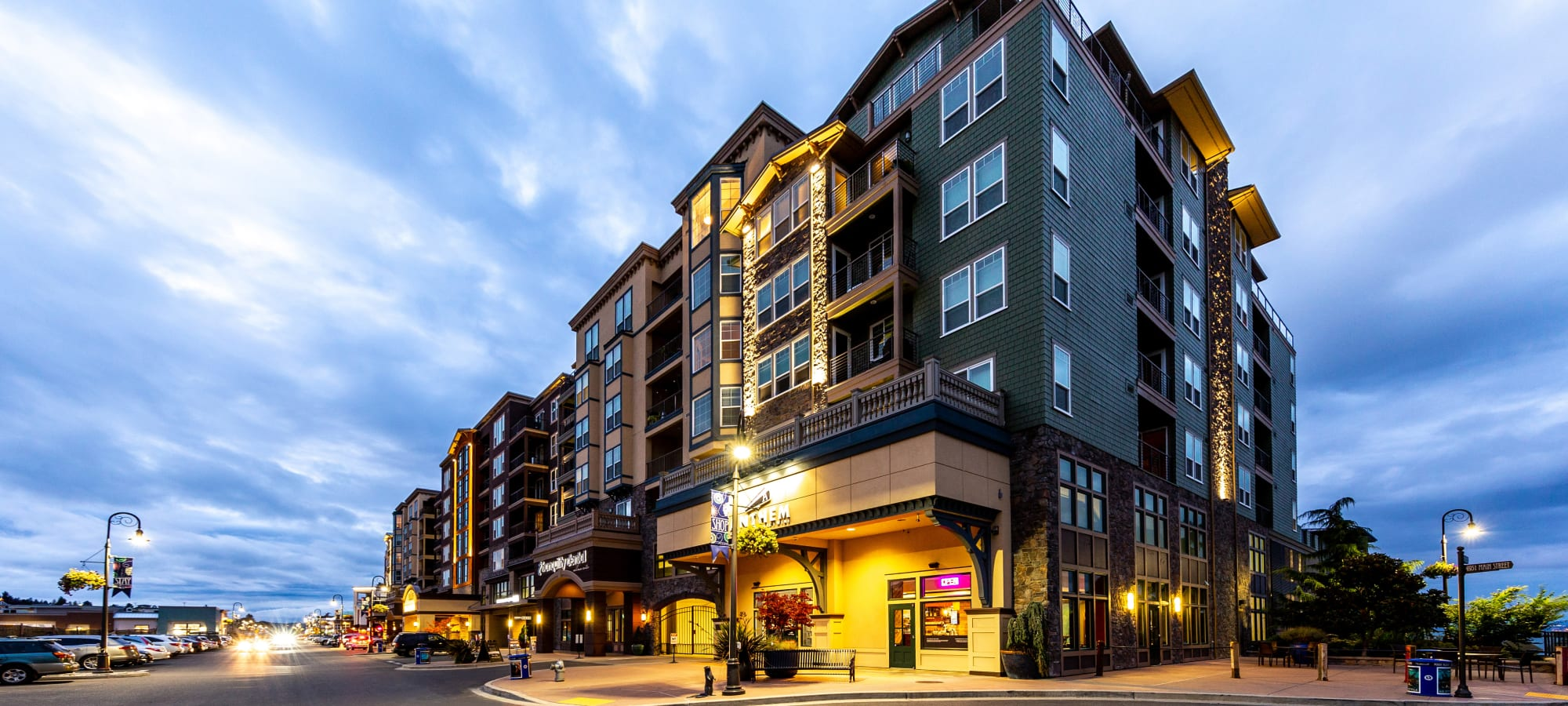 Apartments at Copperline at Point Ruston in Tacoma, Washington