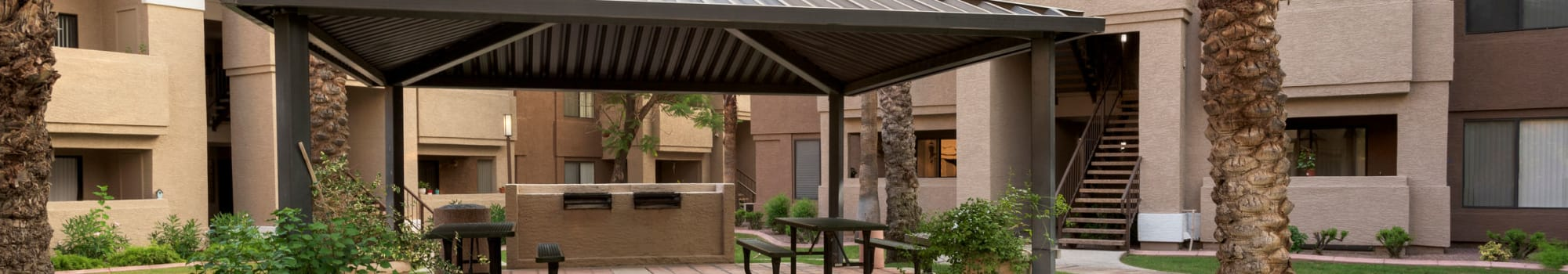 Guest suites at The Palisades at Paradise Valley Mall in Phoenix, Arizona