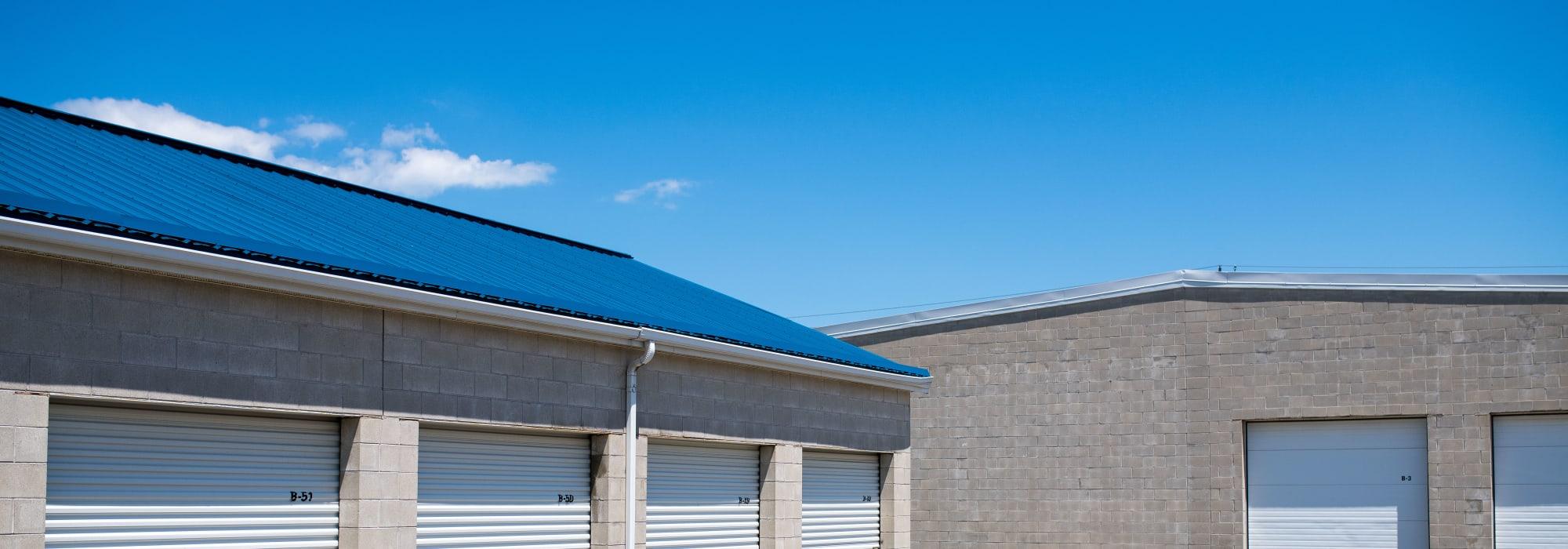 Storage units at Apple Self Storage - St. Catharines in St. Catharines, Ontario