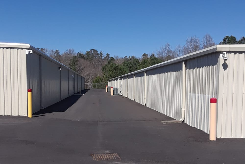 Drive thru access available at Monster Self Storage in Westminster, South Carolina