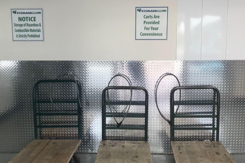Carts & Moving Supplies at Storage Etc... Torrance