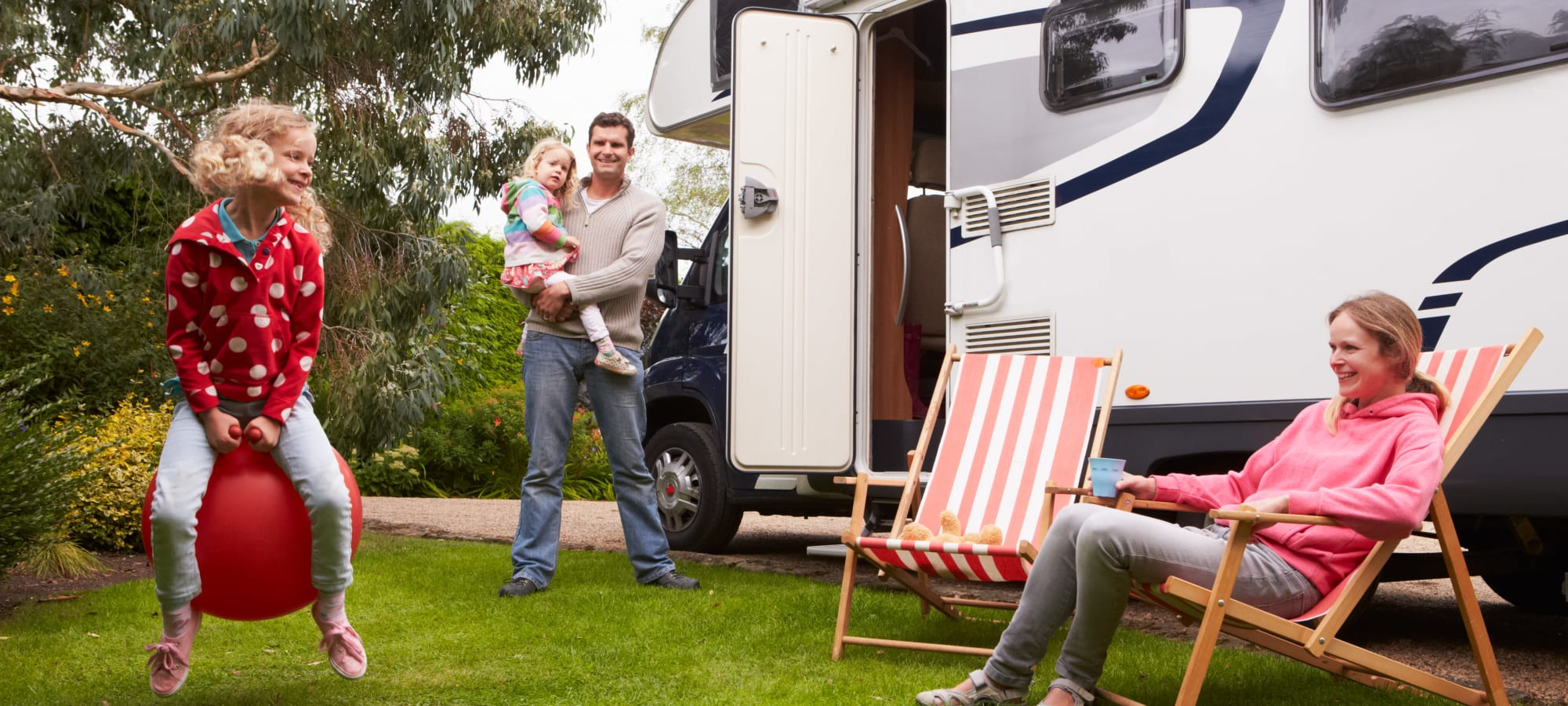 RV, boat and auto storage at Security First Storage in Salem, Oregon