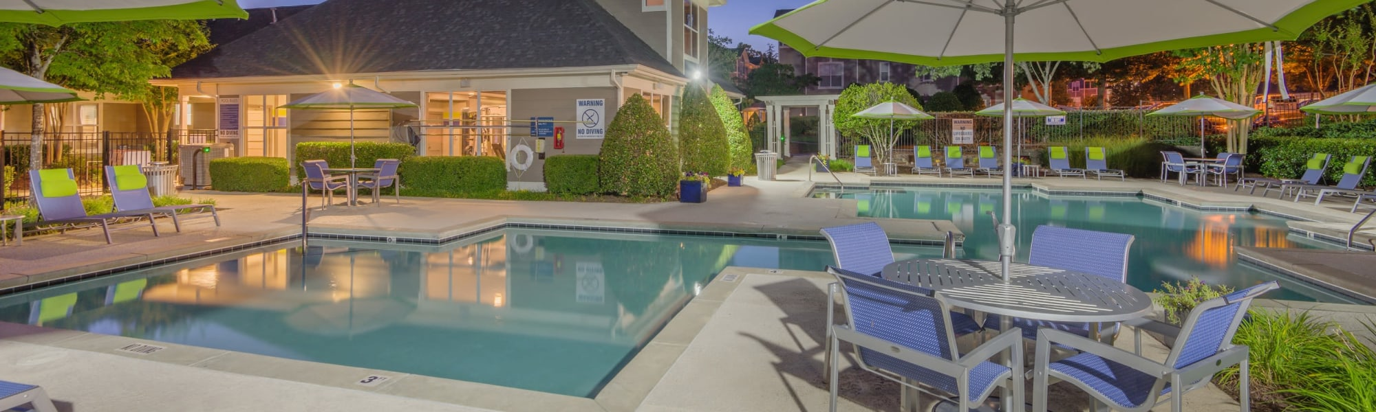 Amenities at The Mark in Raleigh, North Carolina