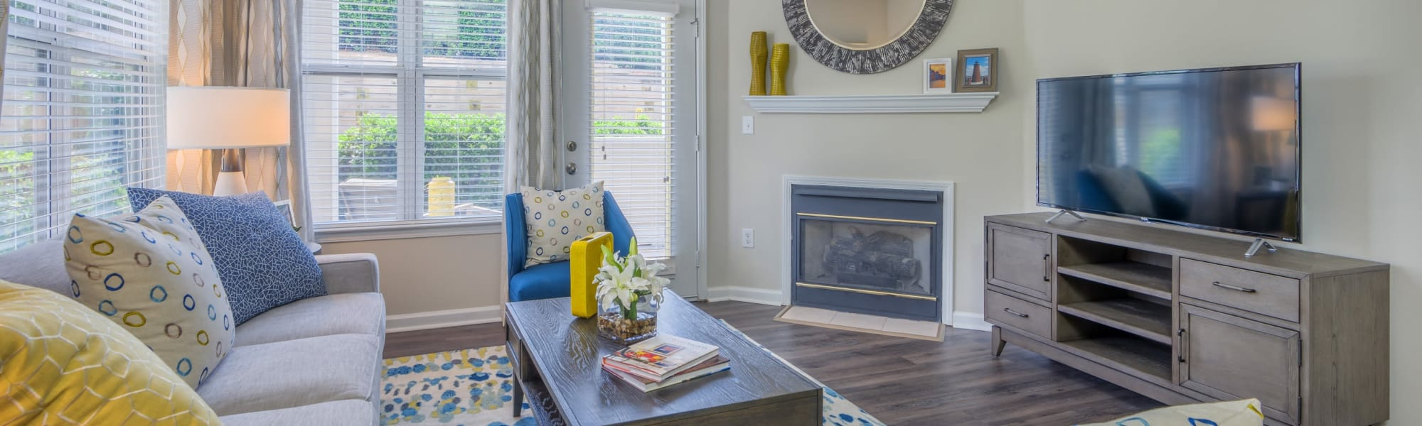 Floor plans at 200 East in Durham, North Carolina