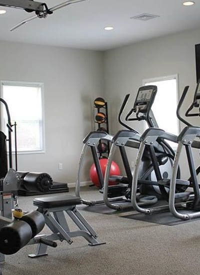 Fitness center at The Encore at Laurel Ridge in Harrisburg, Pennsylvania