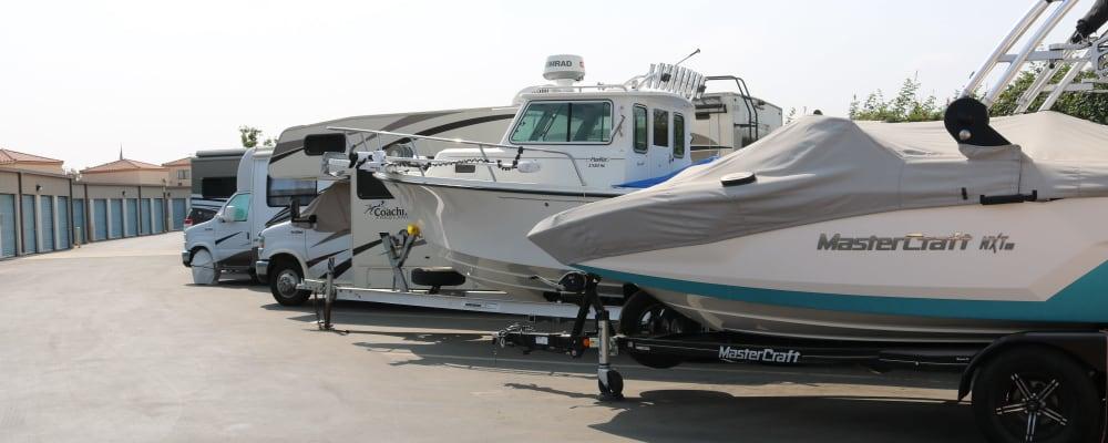 RV and boat parking at Golden State Storage - Camarillo in Camarillo, California