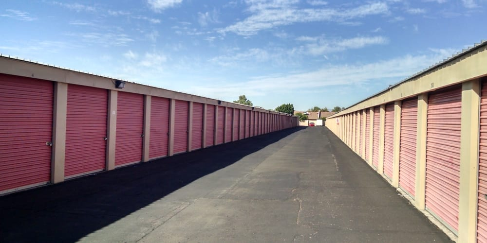 Indoor climate controlled units at StorQuest Self Storage in Glendale, Arizona