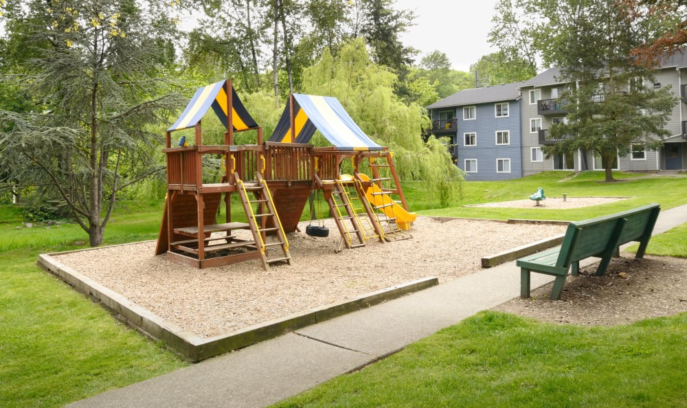 Playground at The Boulevard at South Station Apartment Homes in Tukwila, Washington