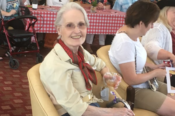 Shirley a resident at Springwood Landing Gracious Retirement Living in Vancouver, Washington