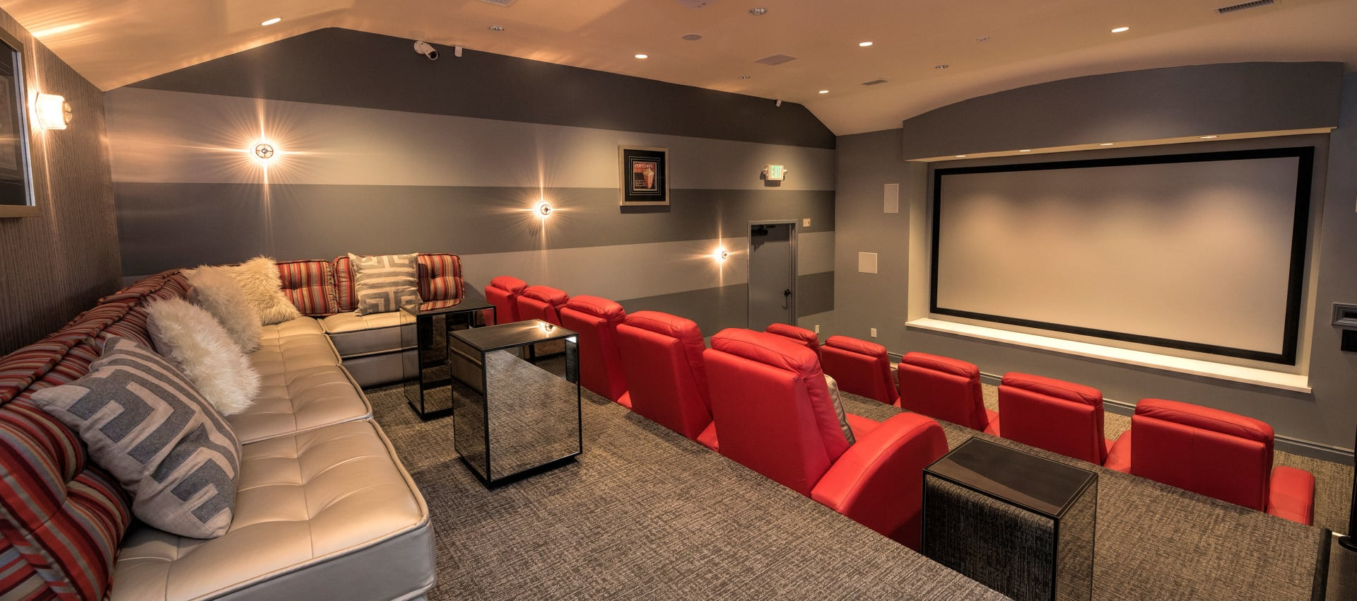 Private Theater at Shadow Ridge Apartment Homes in Simi Valley