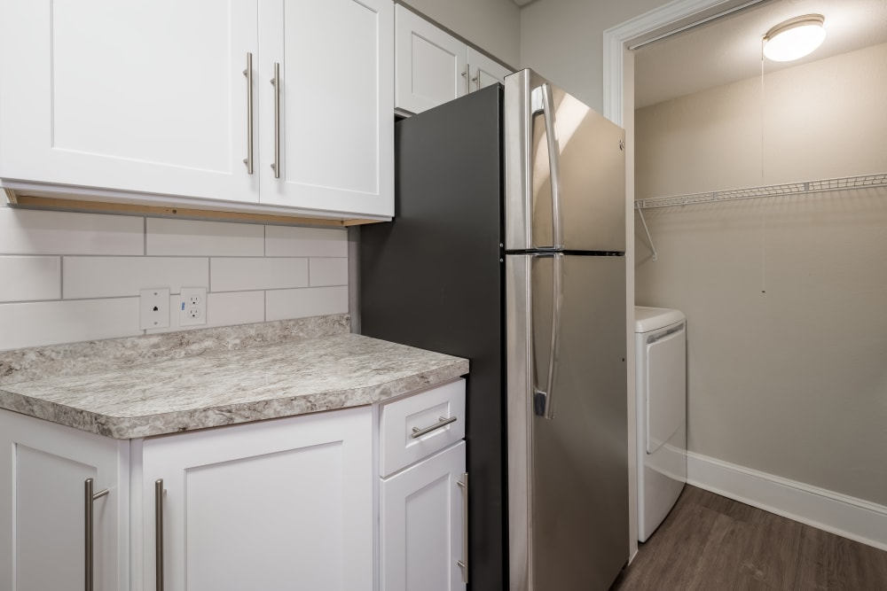 Kitchen at Apartments in North Richland Hills, Texas