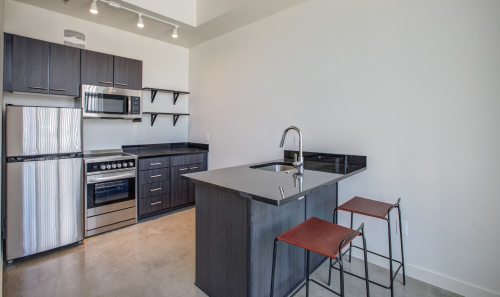 Kitchen at RiDE at RiNo in Denver, Colorado