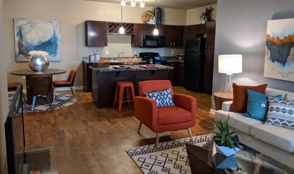 Living space Springs at Gulf Coast in Estero, FL