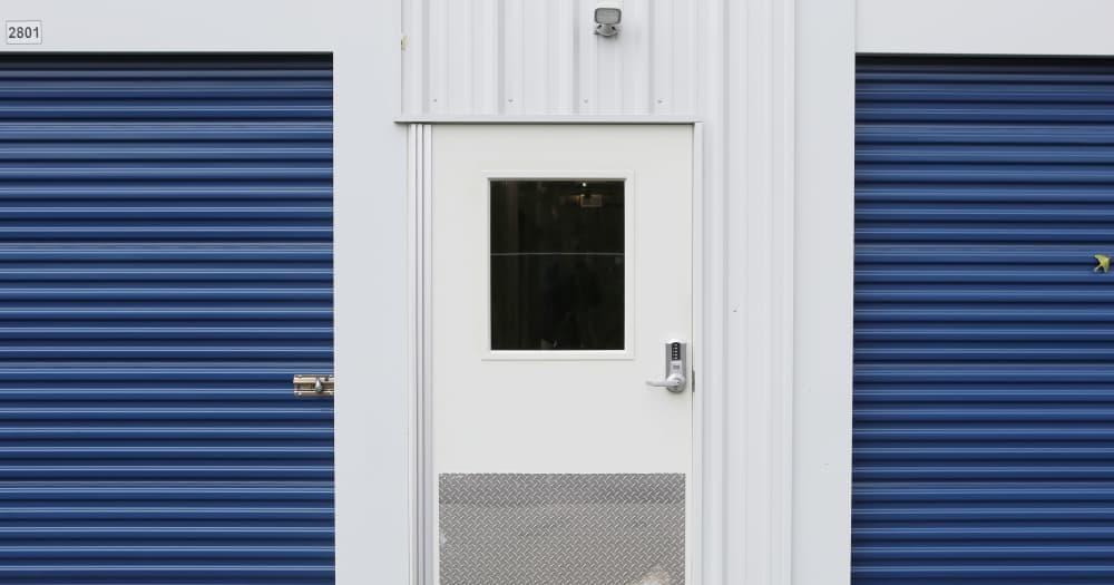 Storage units at Midgard Self Storage in Lake Wylie, South Carolina
