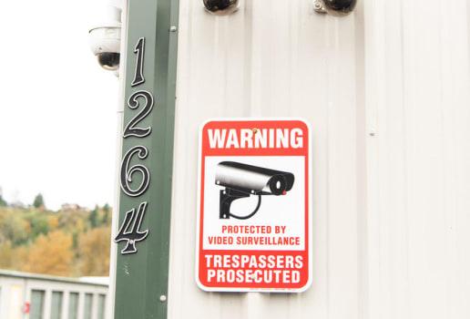 Cameras at ABC Mini Storage in Pacific, WA