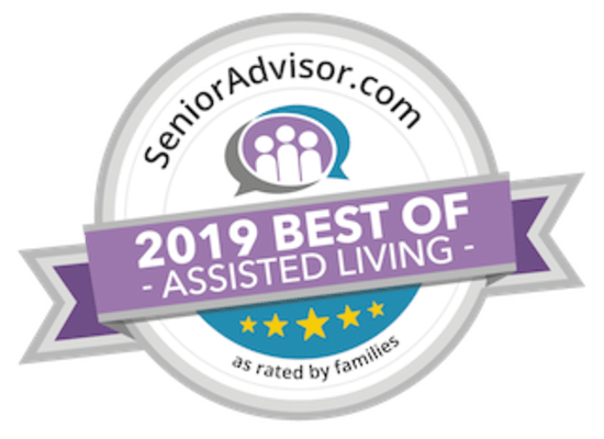 Senior Advisor Award 2019 for Heritage Hill Senior Community