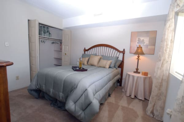 Plenty of space for storage in a model apartment home at The Heights At Marlborough in Marlborough, Massachusetts