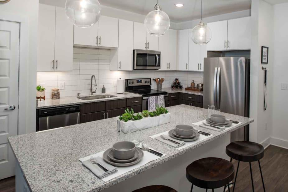 Kitchen at The Jaxon in Jacksonville, Florida