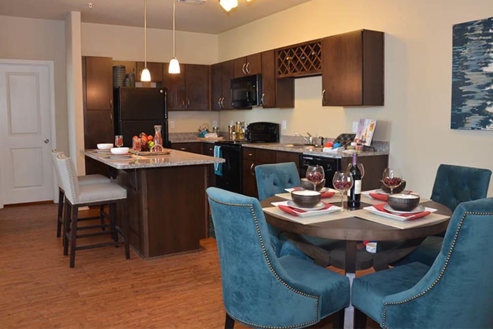 Springs at Alamo Ranch Apartments open floor plans in San Antonio