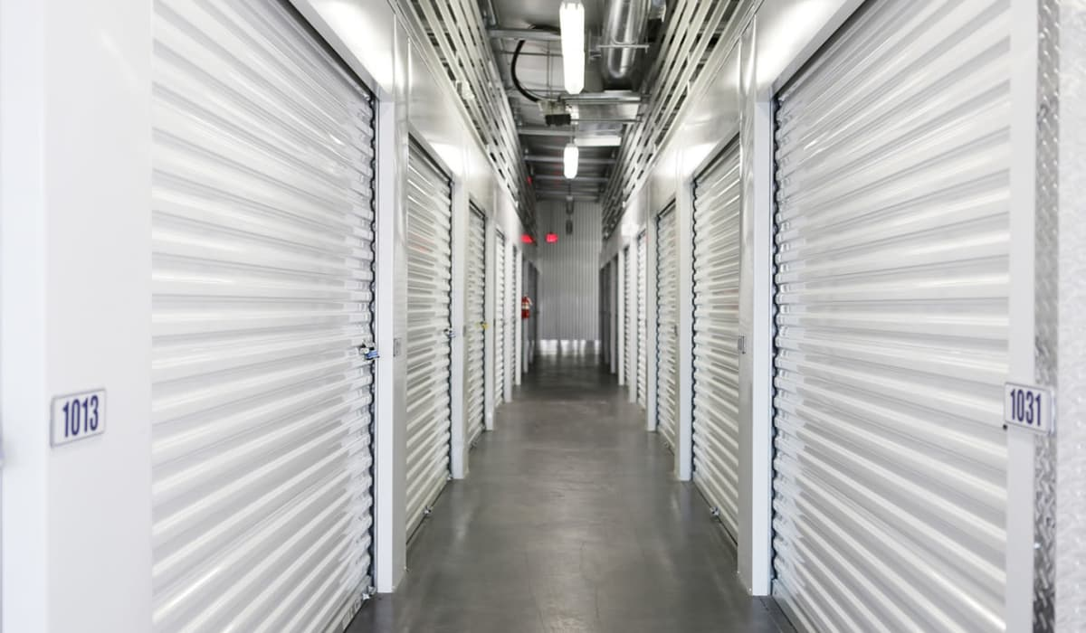 Interior units at Clover Basin Self-Storage in Longmont, Colorado