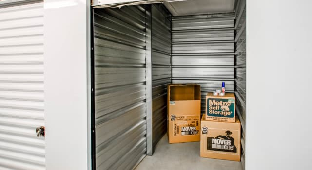Climate controlled units at Metro Self Storage in Sharon Hill, PA