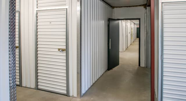Climate controlled units at Metro Self Storage in Newtown, PA