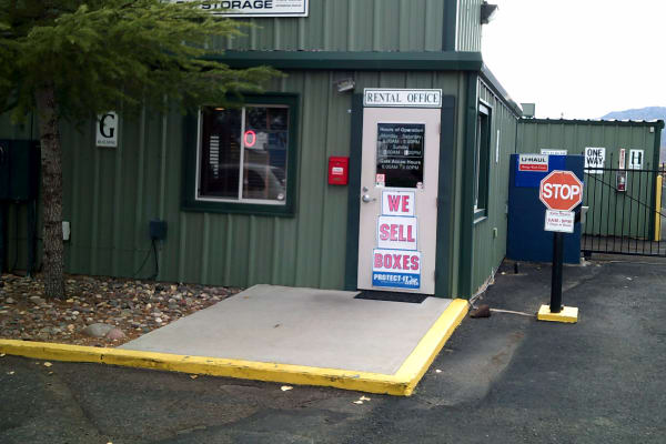 Office entrance at Prescott Valley RV & Self Storage