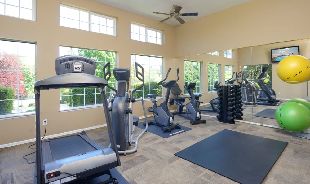 Discovery Landing Apartment Homes offers a Fitness Center in Burien, Washington