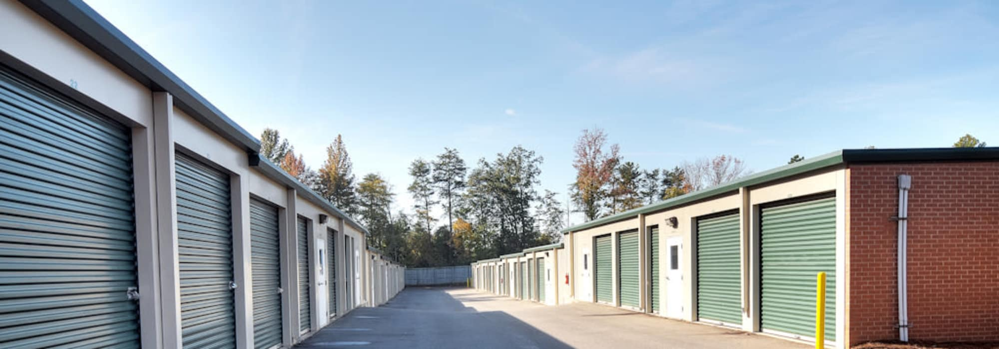 Self storage in Lake Wylie SC