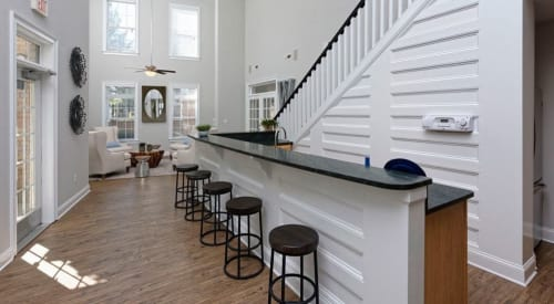 Clubhouse at Worthington Luxury Apartments in Charlotte, NC