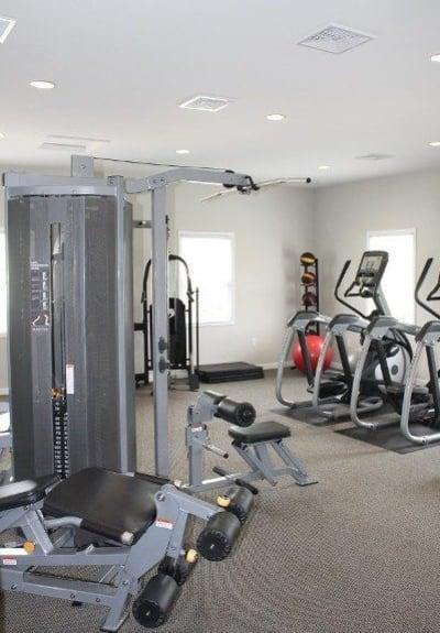Fitness center at The Village of Laurel Ridge in Harrisburg, Pennsylvania
