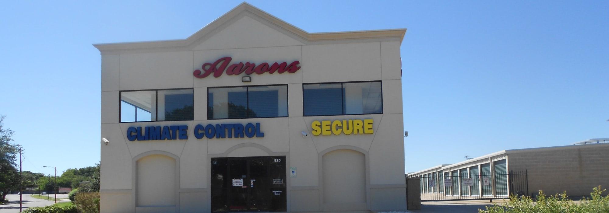 Aarons Self Storage 3 self storage in Waco, Texas