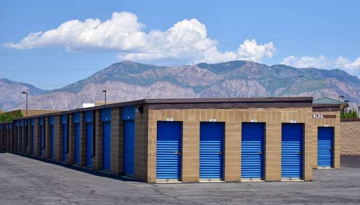 The exterior of STOR-N-LOCK Self Storage in Riverdale, Utah