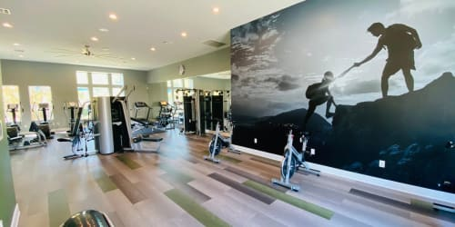 The gym at Palisades Sierra Del Oro in Corona, California