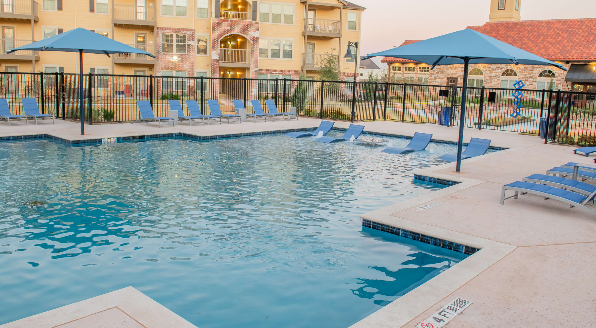 Portico at Friars Creek Apartments in Temple, Texas